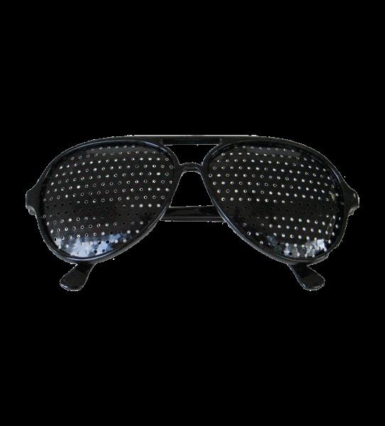Rasterbrille ganzflächig