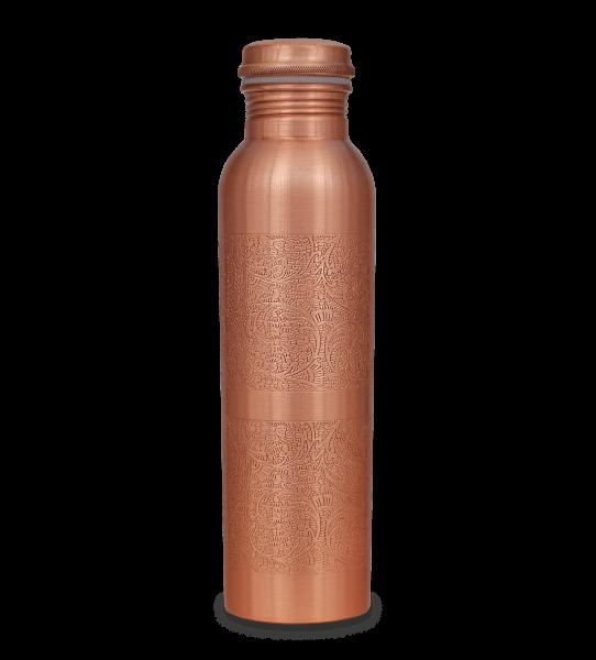 Kupferflasche graviert matt 950 ml - Vorbestellung